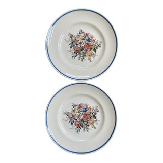 """Ralph Lauren Wedgwood """"Dylan's Grove"""" Salad Plates - a Pair For Sale"""