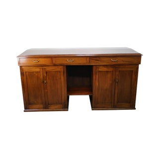 Antique Mahogany Architects Desk For Sale