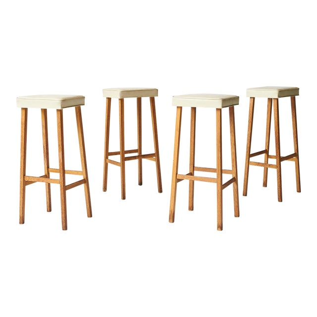billy haines bar stools - set of 4 For Sale