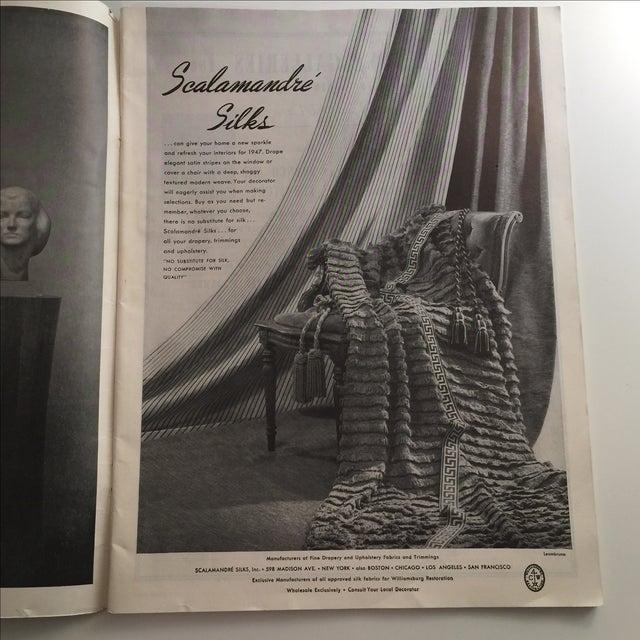 Mid-Century Modern Artnews March 1947 Magazine For Sale - Image 3 of 11