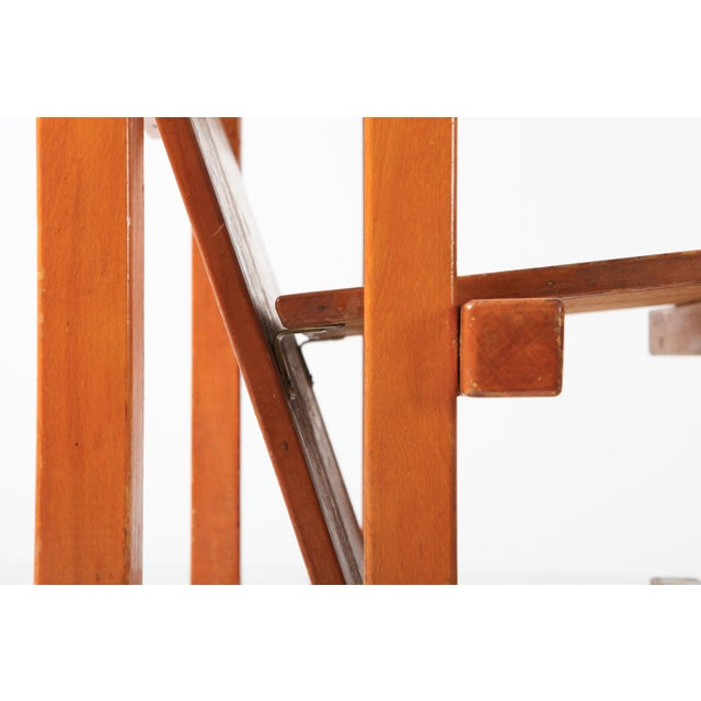 Wood Modernist Armchairs Attributed to Gerrit Rietveld For Sale - Image 7 of 10