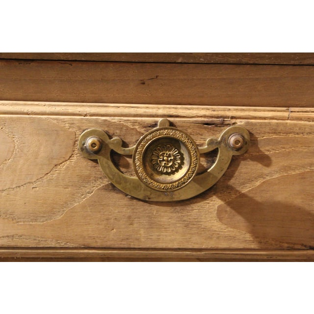 Early 19th Century Early 19th Century Bleached French Buffet For Sale - Image 5 of 7