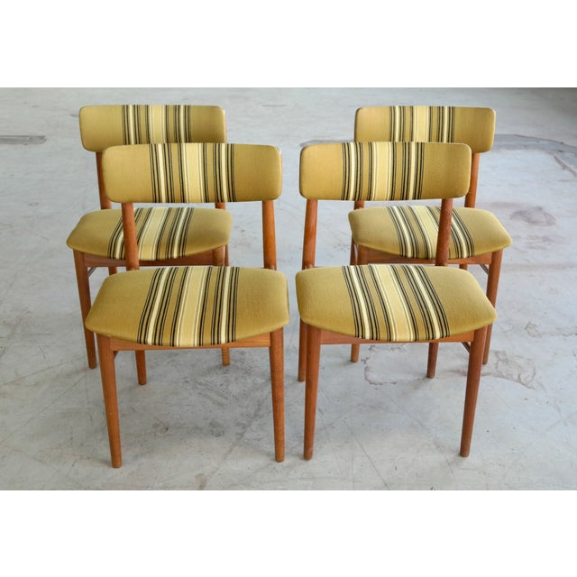 Soroe Style Danish Maple Dining Chairs - Set of 4 - Image 3 of 9