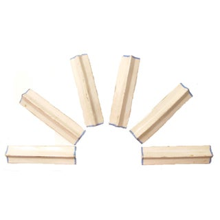 French Pottery Knife Rests, Set of 6 Preview