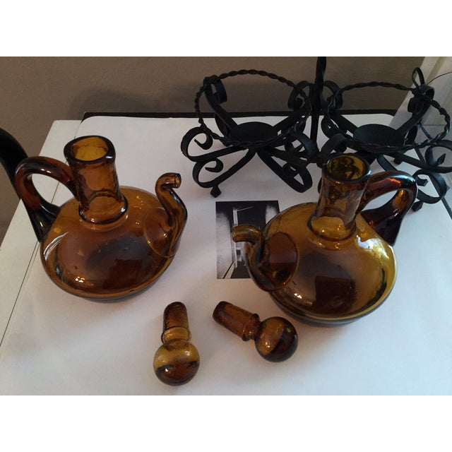 Italian Oil and Vinegar Set - Image 4 of 5