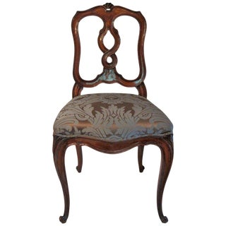 Italian Side Chair For Sale