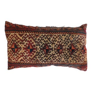 Antique Persian Pillow Rug For Sale