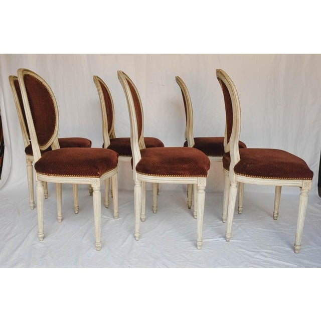 Early 19th Century Set of 6 French Chairs For Sale - Image 5 of 13