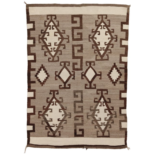 Early 20th Century Antique Navajo Rug 4 9 6 8 Chairish