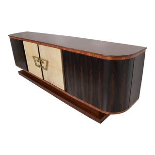 Hollywood Regency Credenza Attributed to Robert & Mito Block For Sale