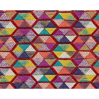 Hinson for the House of Scalamandre Carousel Fabric in Multi For Sale