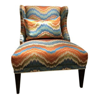 Transitional Bergamo Upholstery Chair