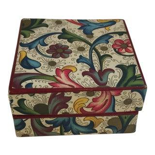 1950s Vintage Florentine Box For Sale