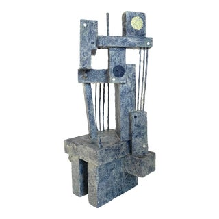 Mid-Century Modernist / Cubist Sculpture For Sale
