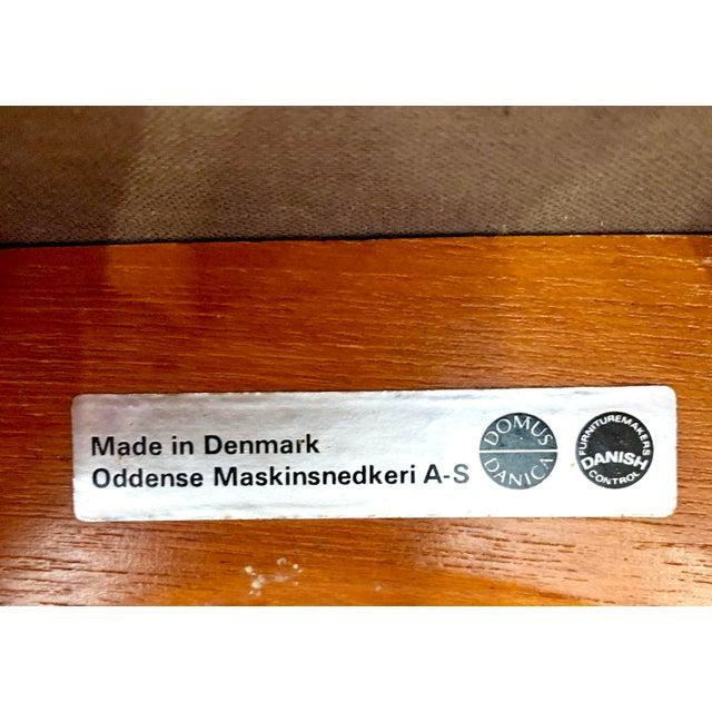Erik Buch Danish Modern Teak Bar Stools - a Pair For Sale - Image 12 of 13
