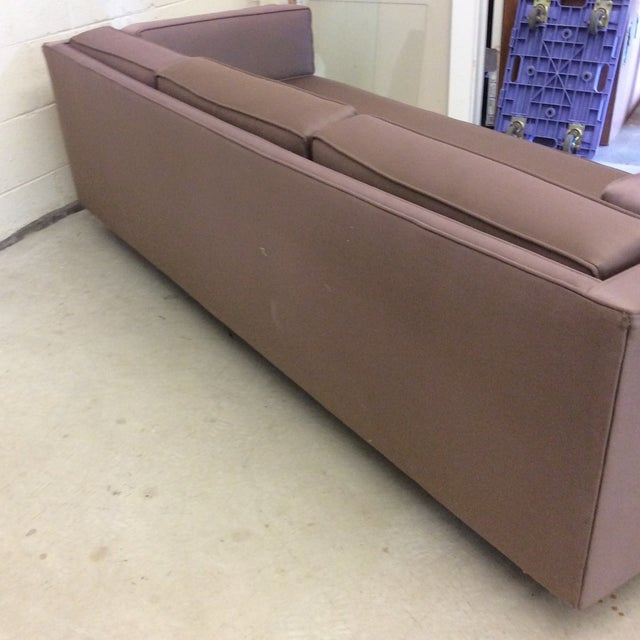 Mid Century Modern Knoll-Style Floating Sofa For Sale - Image 10 of 10