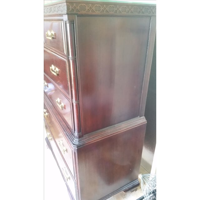 Mahogany High Boy Dresser - Image 5 of 5