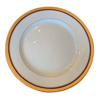 Bernardaud Madison Platinum Dinner Plate For Sale