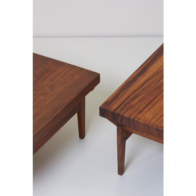 Pair of Signed Studio Craft End Tables, Guatemala, 1960s For Sale - Image 6 of 10