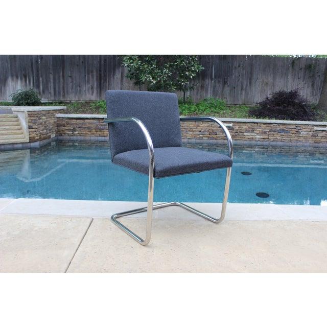 Vintage Ludwig Mies Van Der Rohe Knoll Tubular Brno Chair - Image 2 of 10
