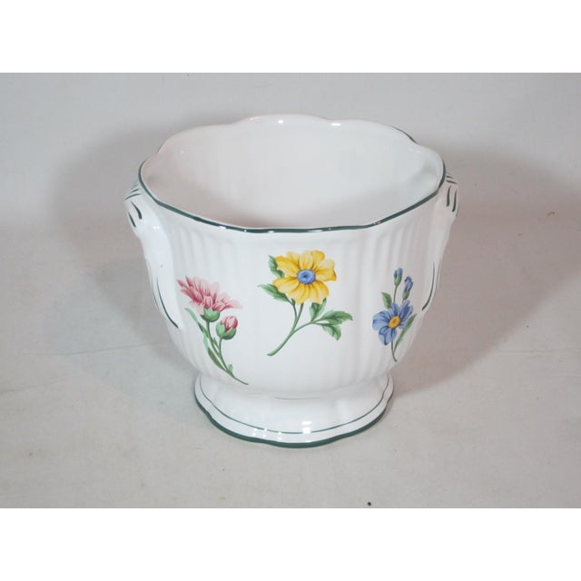 Vintage Tiffany & Company Floral Cachepot For Sale - Image 6 of 6