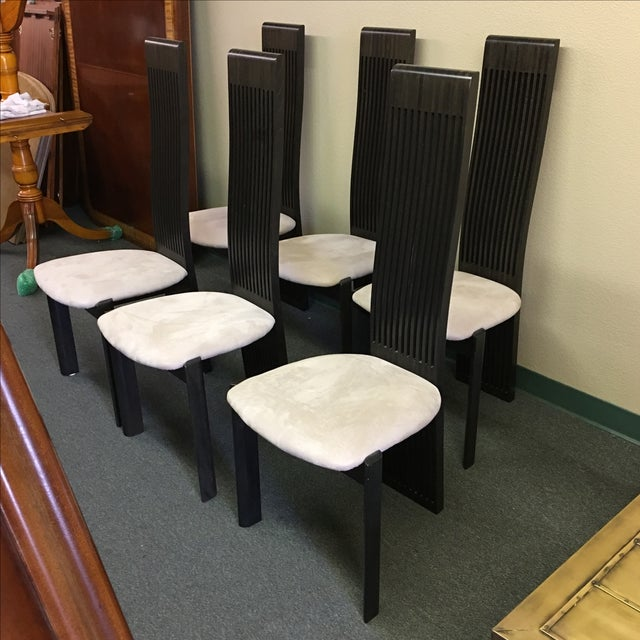 Modern Costantini Pietro Dining Chairs - Set of 6 For Sale - Image 3 of 10