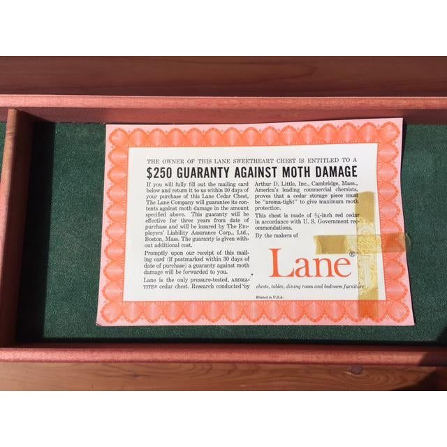 Lane Sweetheart Hope Chest For Sale - Image 10 of 11