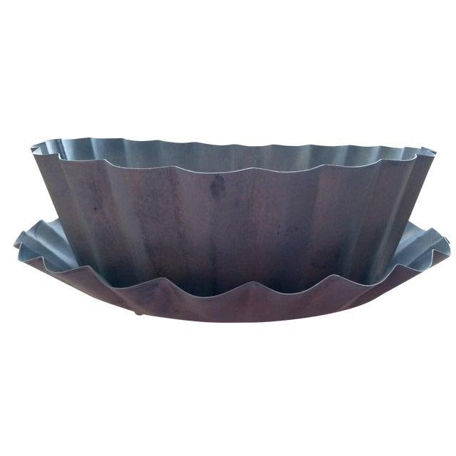 Large Iron Planter Cachepot - Image 1 of 7