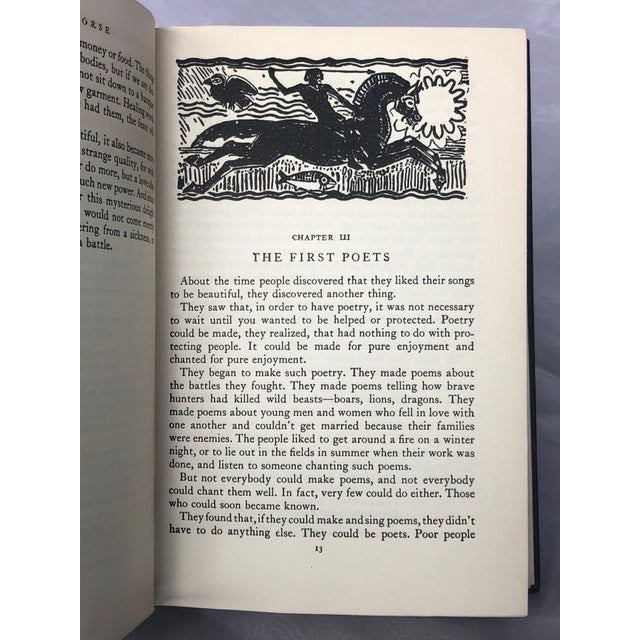 Paper Vintage Book With Pegasus Cover Artwork For Sale - Image 7 of 13