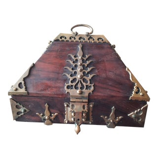 Kerala Nettur Petti Jewelry Box For Sale