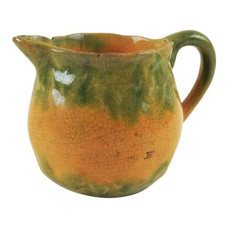 Majolica Melon Creamer For Sale