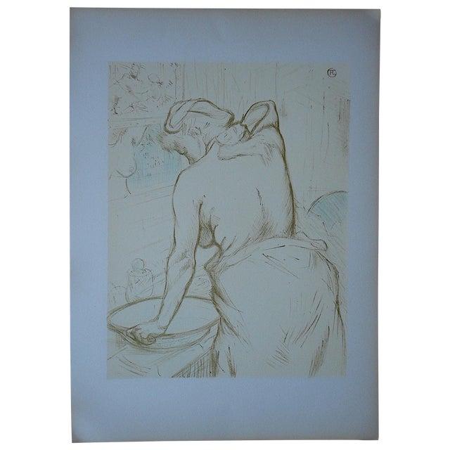 """Vintage Lithograph """"Elles [Women]"""" by Lautrec - Image 1 of 3"""