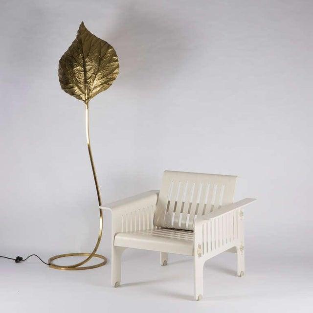 """Impressive """"Triennale"""" Armchairs by Ammannati and Vitelli for Rossi di Albizzate For Sale - Image 10 of 10"""