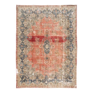 "Apadana - Antique Persian Kerman Rug, 13'2"" X 9'9"""