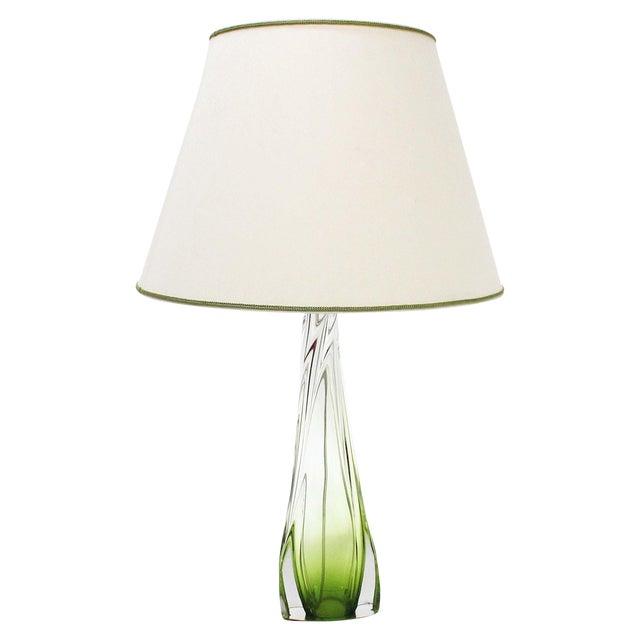 Val St Lambert Table Lamp - Image 1 of 7