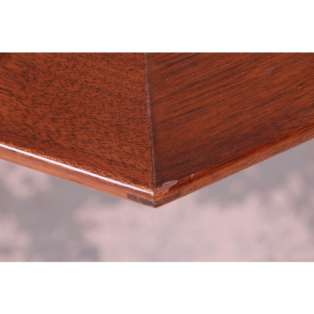 Edward Wormley for Dunbar Janus Collection Game Table For Sale - Image 10 of 12