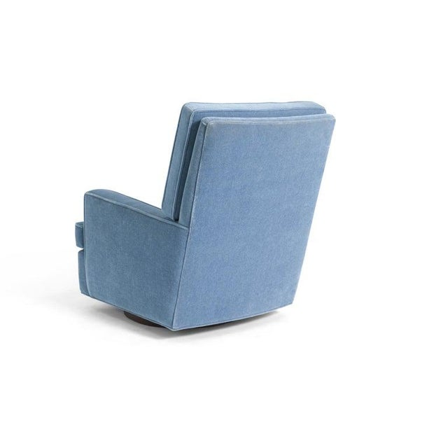 1970s 1970s Vintage Milo Baughman High Back Swivel Chair For Sale - Image 5 of 6