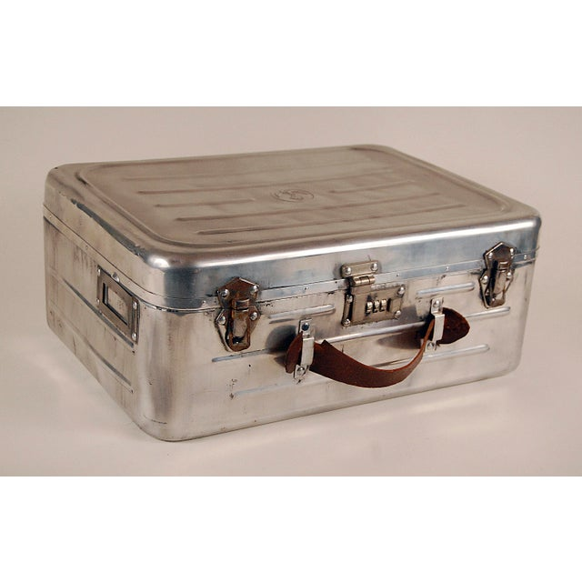 1940s Navy Issue Metal Case For Sale - Image 5 of 5