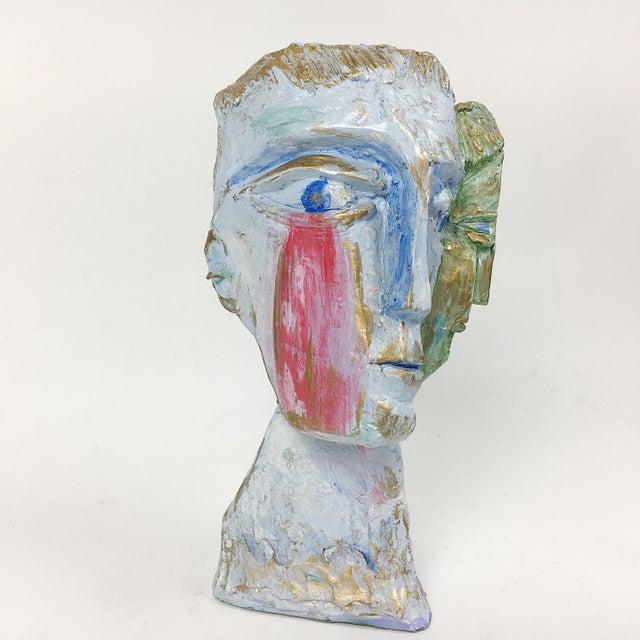 Ben Kupferman Resin 2 Faced Bust - Image 3 of 6