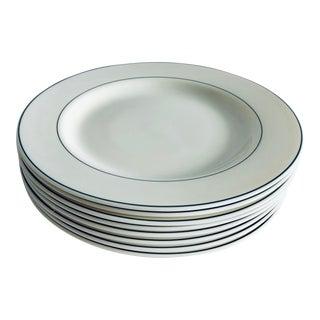 """Modern Arcopal France Gastronomie 9.5""""d Plates S/8 For Sale"""
