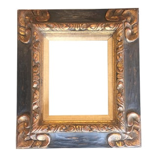 Vintage Hand Carved Picasso/Braque Style Frame For Sale