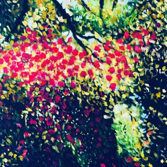 """""""Blossom"""" Acrylic Painting For Sale"""