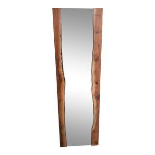Crate & Barrel Live Edge Standing Mirror