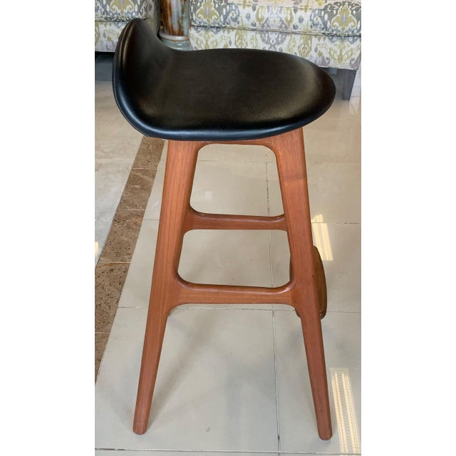 Eric Buch Danish Modern Stools - A Pair For Sale - Image 10 of 13