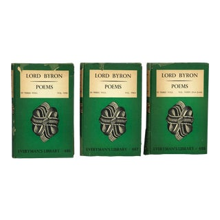 Lord Byron Poetry Book Set - 3 Pieces For Sale
