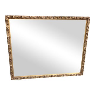 Antique Gilded Galax Mirror For Sale