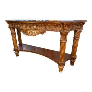 Hekman Art Deco Console Table For Sale