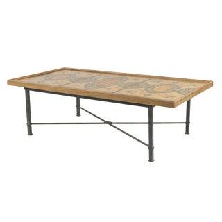Italian Roman Neoclassic Coffee Table For Sale