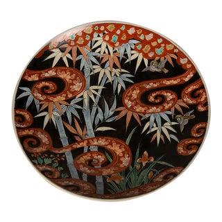 An impressive Imari platter from Japan c. 1895 For Sale