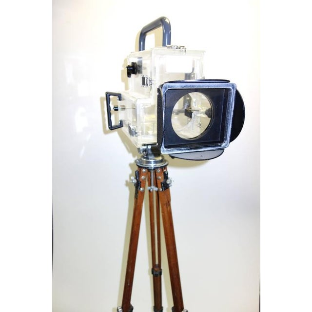 Industrial Movie Camera Underwater Housing Circa 1970 by Famous Jaws Cinematographer Jordan Klein. Sold For Sale - Image 3 of 7